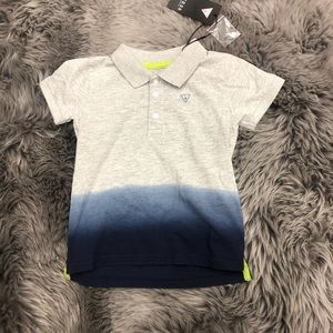 Guess Ombré Graphic Polo Tee (PM1525)